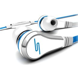 Wholesale Sms Audio New - New earbuds mini 50 Cent Earphones SMS Audio Street by 50 Cent Headphone In-Ear bluetooth headset for Mp3 Mp4 Cell phone tablet