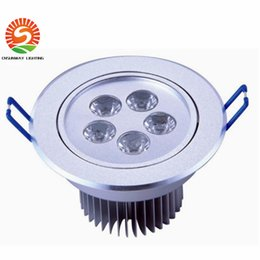 Wholesale Energy Saving Remote - Ceiling Light White Shell 3W5W7W9W12W18W Led Downlights Cool Warm White Led Ceiling lighting Energy Saving Led Lamp 85-265V DHL Free