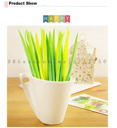 Wholesale Products Gel - 2017 new products sold in Japan and South Korea stationery creative neutral pen grass pen shop office stationery wholesale