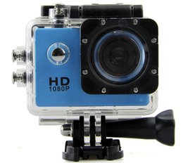 Wholesale new dv - 2017 NEW Waterproof 2.0 Inch LCD Screen SJ4000 style 1080P Full HD Camcorders Helmet Sport DV 30M Action Camera VS SJcam GO Pro