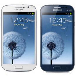 Samsung galaxy 8gb en Ligne-Remis à neuf d'origine Samsung Galaxy Grand Duos i9082 5.0 pouces Dual Core 1 Go de RAM 8GB ROM 8.0MP Dual SIM débloqué 3G Android Phone Post 1pcs