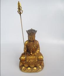 Bouddha chinois antique en Ligne-Haute sculpture antique de bouddha de 9 pouces, ancienne statue de Bouddha de moine de dynastie chinoise de collection