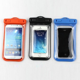 Wholesale Galaxy S3 Cell Phone Cases - Free Shipping , IPX8 ABS+PVC Waterproof Case Skin Bag Underwater Water Proof case for Smart Phone Cell Phone Galaxy S3 S4 From Powerswell