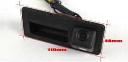 Wholesale Audi A4 Camera - For Audi A4 A4L S4 RS4 car Rear View Camera   Back Up Parking Camera HD CCD Night Vision