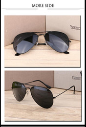 Wholesale Name Brand Sunglasses Men - 62 mm width Wholesale cly Fashion Name Logo Good Quanlity Sport Oil Rig High Quality Men Women RAY bands glys Brand Sunglasses free shipping