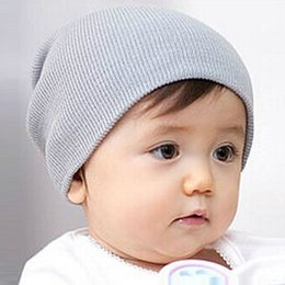 Wholesale Kid Chapeau Hat - Baby Hat Chapeau Enfant Cappellini Neonato Baby Boy Girls Soft Baby Beanie Winter Warm Kids Cap