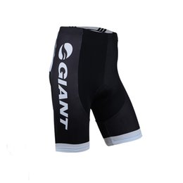 Wholesale Padded Bike Shorts Gel - Giant Summer Cycling shorts maillot Quick-Dry Lycra GEL Pad Race MTB Bike Bib shorts cycling clothing