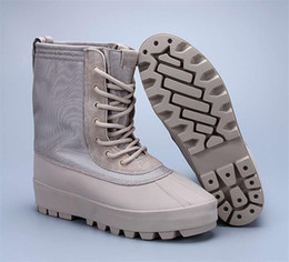 Wholesale Cowboy Footwear - Fashion Boosts 950 Boost Kanye West Shoes 950 High Boots Duck Boot Color Peyote Moon Rock Women Sneaker Moonrock Trainers Men sport footwear