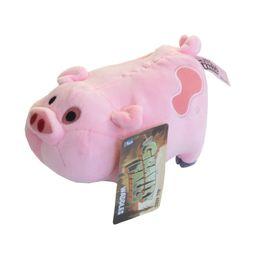 Wholesale Pink Pig Movie - Wholesale- 1pcs 16cm Movie Gravity Falls Kawaii Waddles Pink Pig Plush Toys