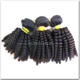 Wholesale Cheap Hair Spirals - HUIXIN malaysian human hair extension unprocessed wholesale cheap real mink 3 bundles lot malaysian spiral curly hair weaves