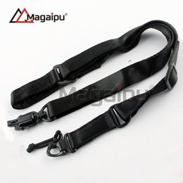 Wholesale Strap New Product - Magaipu New Product Two Point Rifle Sling System Strap Adjustable Hunting Airsoft Gun Sling Nylon Gun Strap