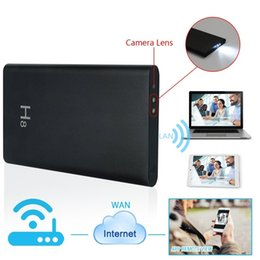 Wholesale Bank Wifi - 32GB 1080P WIFI SPY Camera Hidden P2P DVR USB Battery Power Bank Camera Nanny Cam IP Video Recorder Motion Detection for APP Remote View