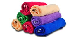 Toalha de cão de microfibra Drying Jacket Blanket Toalhas de banho Pet Hypoallergenic Limpeza de produtos químicos e de limpeza Absorvente Panos de animais de