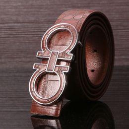 Wholesale Leather Belt Bag For Men - With original box Brand Buckle Card Dust bag Genuine leather belt men women designer belts for wholesale retail luxury