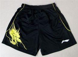 Wholesale Fast Drying Pants - Chinese dragon Li-Ning Tennis shorts,Polyester fast dry lining Badminton Shorts,lining Table Tennis shorts,Sportwear pants,Tennis Shorts