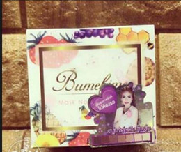 Wholesale Bumebime Handwork Whitening Soap with Fruit Essential Natural Mask White Bright Oil Soap free shiping DHL