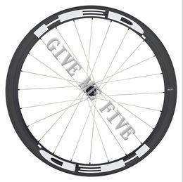 Wholesale Black Basalt - Basalt braking surface UD 3k AWST carbon wheels 50mm 23mm wideth glossy road bike wheels Black hubs Powerway Hubs 20H 24H
