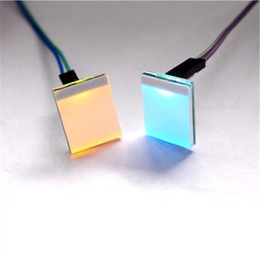 Wholesale Rgb Led Sensor - 2PCS RGB Capacitive Touch Switch Colorful LED Sensor Module DIY Electronic 2.7V-6V Anti-interference Strongly