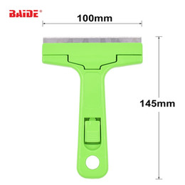 Wholesale Iphone Glue Remover - UV Glue Remover Scraper for iPhone Samsung LCD Touch Screen Separation Cleaner Blade Relieving Tool For SMT Rework Glass 400pcs lot
