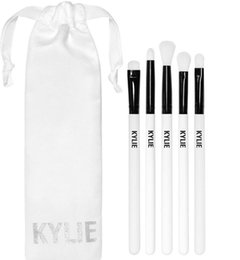 Wholesale White Collection Wholesale - Kylie Brush Set Kylie Limited Edition Collection brushes set 5pcs Kylie Cosmetic Makeup brushes