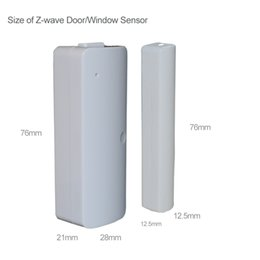Wholesale Wired Door Window Sensor Magnetic - Wholesale-Wired Door  Window Sensor 300mm ,z-wave Wire Lengthen Randomly Magnetic Switch Home Alarm System
