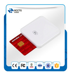 Wholesale Rfid Chips - PC Linked Long Range Rfid Smart Chip Card Reader And Writer ACR38U-I1