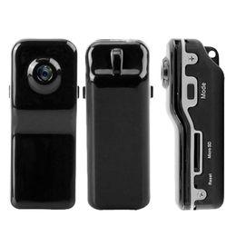 Wholesale Video Camera Brackets - Wholesale-Hot Mini DVR Camera MD80+Clip Mini Camcorders Cams+Bracket Support Memory Card HD DVR Sports Video Camera Easy Installation