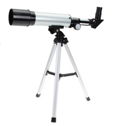 Wholesale Astronomical Telescope Lenses - New F36050M Refractive Astronomical Telescope with Portable Tripod Spotting Scope Outdoor Monocular Astronomical Telescopes MOQ:1PCS
