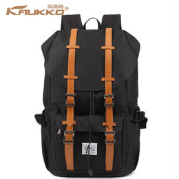 Wholesale- Big Brands the same style Kaukko Fashion waterproof school backpack Women Men travel Laptop bags backpack for teenagers ? partir de fabricateur