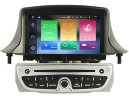Wholesale Renault Megane Dvd - Navirider octa core android 6.0 car dvd player for RENAULT Megane III Fluence (2009-2011) with gps navi radio stereo 3G wifi dvr head units
