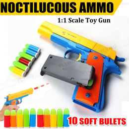 Wholesale Gun Toy New - New Toy Gun Pistol & Soft Bullets Realistic 1:1 Scale OZ