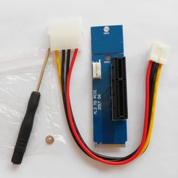 Wholesale Fits Power Cables - Hihg Quality M.2 to PCIE Card PCI-E 4X Female to NGFF M.2 M Male Adapter Key Power Cable Fit 2280 2260 For BTC Free DHL