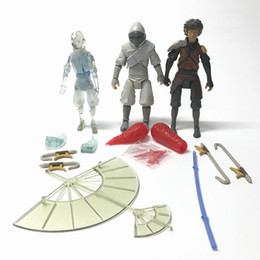 Wholesale Avatar Movie - 3PCS Avatar The Last Airbender Arctic Stealth Zuko AANG JET Movie Gift Toy Free Shipping CA189