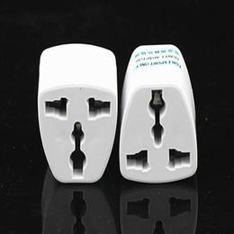 Универсальный адаптер зарядного устройства для usa онлайн-Высокое качество путешествия зарядное устройство переменного тока электрическая мощность UK/AU/EU To US Plug адаптер конвертер США универсальный разъем питания Adaptador разъем(Белый)