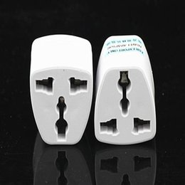 2019 universal-stecker für ladegerät Hohe Qualität Reiseladegerät AC Elektrische Power UK / AU / EU Zu Us-stecker Adapter Konverter USA Universal Power Stecker Adaptador Stecker (weiß) günstig universal-stecker für ladegerät