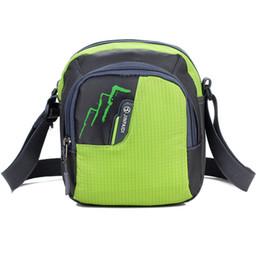 Wholesale Cheap Messenger Bags Men - Wholesale- Men women Small Crossbody Bag Unisex Cheap Nylon Messenger Bag Travel Casual Shoulder Bag Leisure Fashion Mini Bags Bolsos Mujer