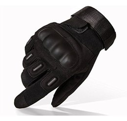 Wholesale Baseball Glove Box - Tactical Gloves Military Hard Knuckle Outdoor Gloves Men Fit Cycling Motorcycle Hiking Camping Powersports Airsoft Paintball