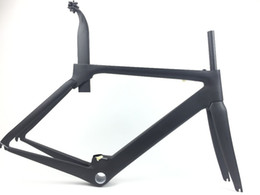 Wholesale Carbon Road Bikes 54 - 2017 Newset road bike aero carbon bicycle frame,aero handlebar,free shipping,carbon bicicletta de carbono size 48 51 54 56 58