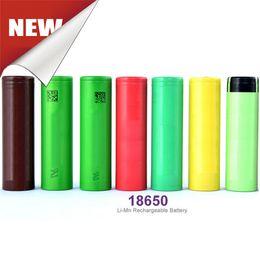 Wholesale Rechargeable Ecig Battery - Rechargeable Batteries Wholesale Ecig Battery High Drain 35A 3.7V 3000mah For Ecig Box Mod 25r HG2 HE4 HE2 VTC4 VTC5 Fedex