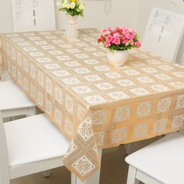 Wholesale Tables Covers For Cheap - Free Shipping cheap PVC colour tablecloth tea Cup Mat Table Cover Table Runner classical type for wedding home decorte party Christmas gift