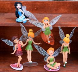 Wholesale Dollhouse Miniature Glasses - Fairy Pixie Dust Princess Fly Wing Spirit Baby Miniature Dollhouse Bonsai Garden Ornament Craft in DIY Action Figure Fairy Garden Miniatures