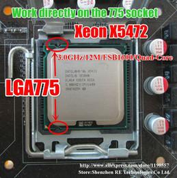 Processador de CPU Intel Xeon X5472 Quad-Core 3.0GHz 12MB / 1600MHz Funciona na placa-mãe LGA775 sem necessidade de adaptador supplier intel cpu processor 775 de Fornecedores de processador intel cpu 775