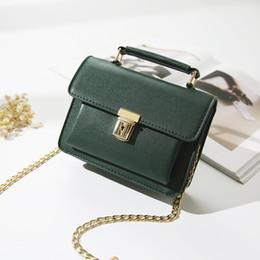 Wholesale Mini Square Cell Phone - 2017 new women bag Korean fashion handbag double bag pocket shoulder Messenger bag small square made in China