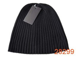 Wholesale L Beanie - hot brand winter knitting hats Beanie cap l style men's women's winter autumn knitted warm hats beanies