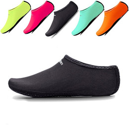 Wholesale Shoes For Swimming - Kids,Womens and Mens Classic Barefoot Water Sports Skin Shoes Aqua Socks for Beach Swim Surf Yoga Exercise