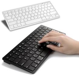 Wholesale Apple Iphone Book - Mini Ultra-slim Wireless Keyboard Bluetooth For Apple iPad iPhone Series Mac Book Samsung Phones PC Computer Tablet Smartphone