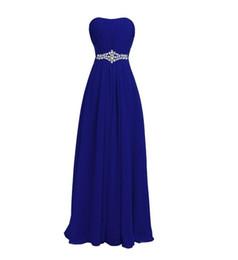 Robes de demoiselle d'honneur longue en mousseline de soie avec cristal violet noir vert foncé 2019 étage longueur robe de soirée robe Madrinha ? partir de fabricateur
