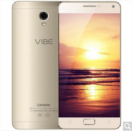 Wholesale Dual Sim Lenovo Phones - lenovo vibe P1 dual card dual standby mobile phone 4G mobile phone large battery, large screen wonderful audio and video camera experience