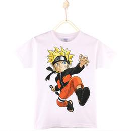 1b466b928 2017 Nuevo Anuncio Niños Camisetas 100% Algodón de Punto Streetwear Naruto Niños  Camiseta Niños Ropa de Bebé Niñas Tops Camisa Niño Envío Gratis