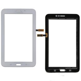 Wholesale Mix Tabs - 50PCS Touch Screen Digitizer Glass Lens with Tape for Samsung Galaxy Tab 3 7.0 T113 Tab 4 7.0 T116 free DHL